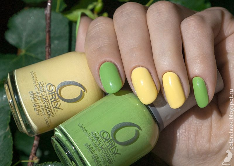 Orly Green Apple + Lemonade | Manicuras | Pinterest | Blog y Manzanas