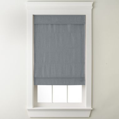 JCPenney Home™ Textured Roman Shade - JCPenney