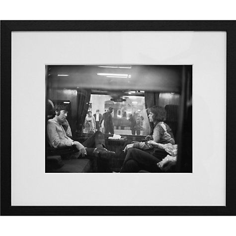 Buy getty images gallery paul mccartney mick jagger first class travel 67 framed print