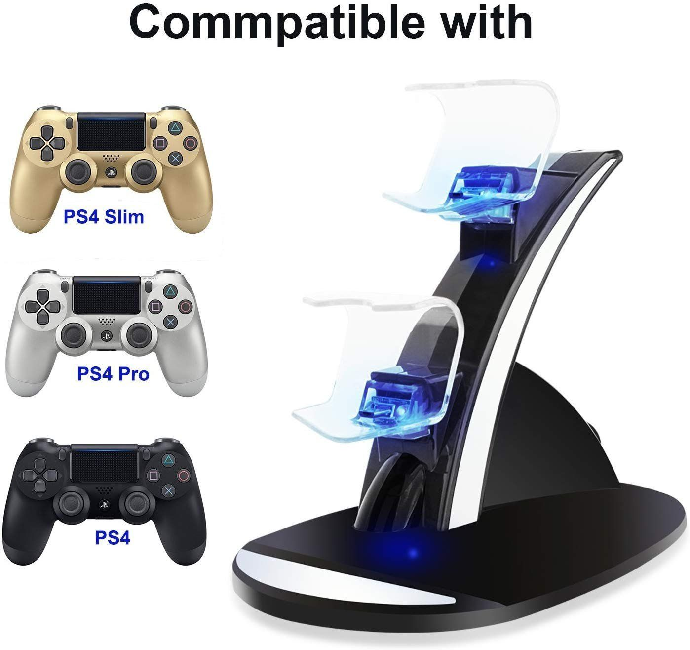Ps4 Controller Charger Y Team Playstation 4 Ps4 Ps4 Pro Ps4 Slim Controller Charger Charging D Playstation 4 Accessories Ps4 Controller Charger Ps4 Slim