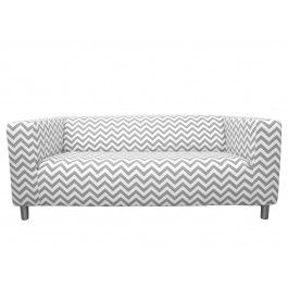 Fine Ikea Klippan Cover In Ash Chevron From Knesting Com Ikea Gmtry Best Dining Table And Chair Ideas Images Gmtryco