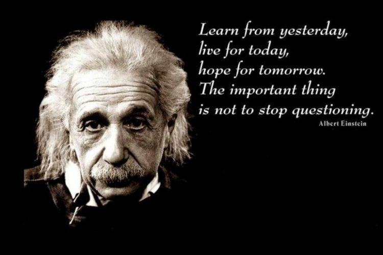40 Albert Einstein Zitate, Sprüche & Weisheiten zu verschiedenen