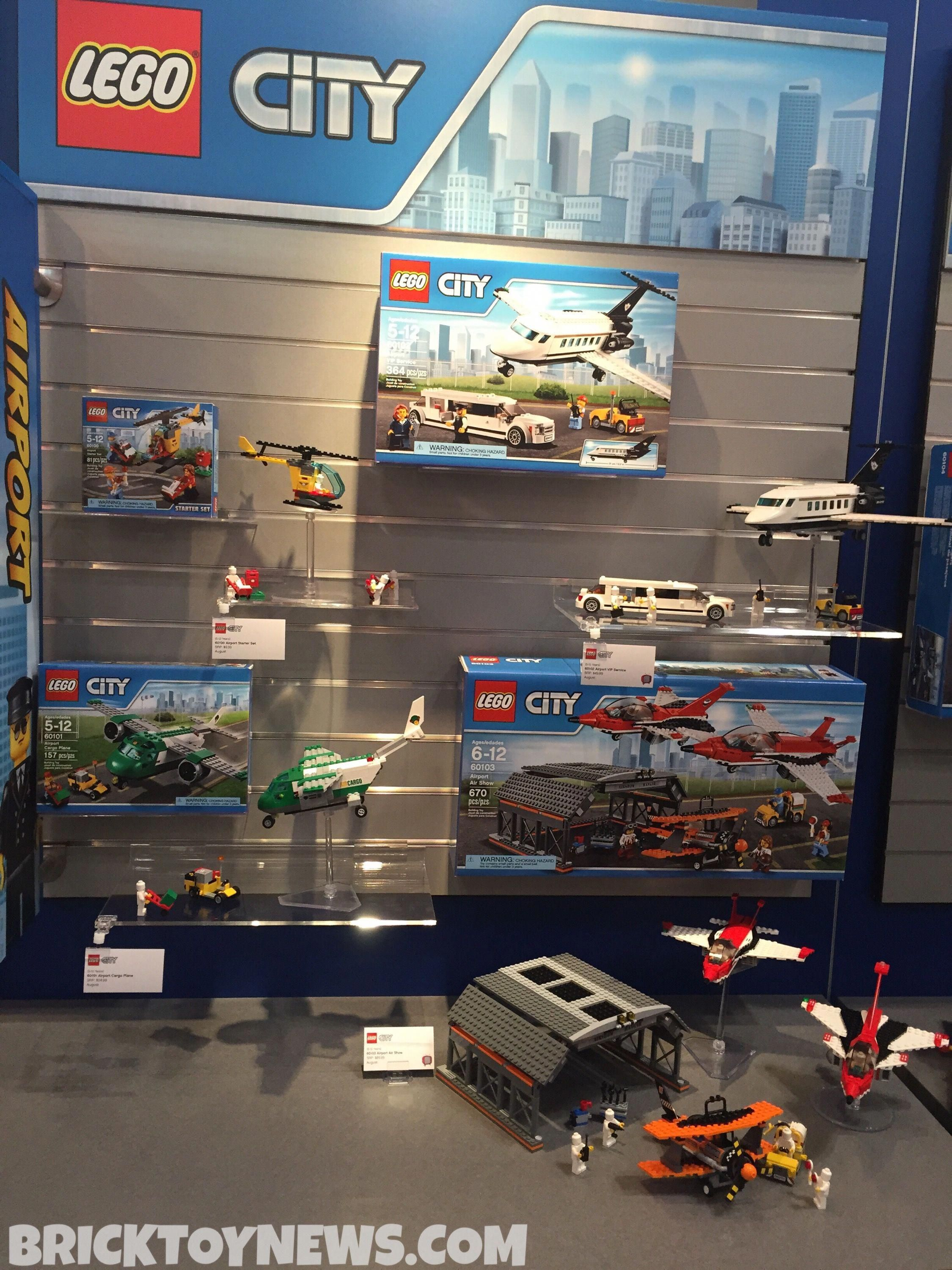 Toy Fair 2016 Lego City Airport Summer 2016 Sets Photos Brick Toy News Advisingplay In 2020 Lego City Airport Lego City Airport City