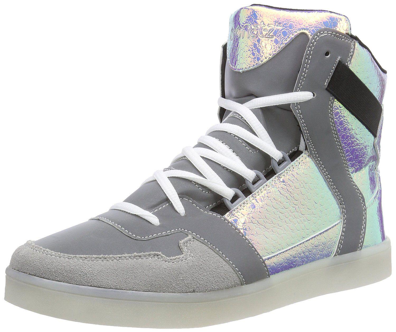 Nat 2 LED Cube Herren Hohe Sneakers: : Schuhe