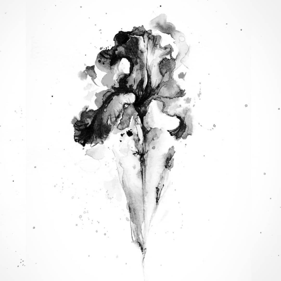 Пятна превращаются в смыслы, а они в истории. Свободный ирис (или пятно Роршаха?) для тех, кто ценит это таинство.  Открыта запись на апрель.  #tattoomsk#tattoorussia#tattoomoscow#tattooed#floraltattoo#drawing#aquarelle#aquarelletattoo#watercolortattoo#tattoodesign#artwork#art#inked#sketch#tattoosketch#flowertattoo#watercolorpainting#tattoolovers#redmosstattoo#inkwash #graphictattoo#tattoolove#iristattoo#татуировка#татумосква#татумск#татуировкамосква#татуакварель#татуцветок#та