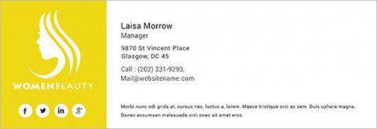 email signature - Google zoeken | Email signatures | Pinterest