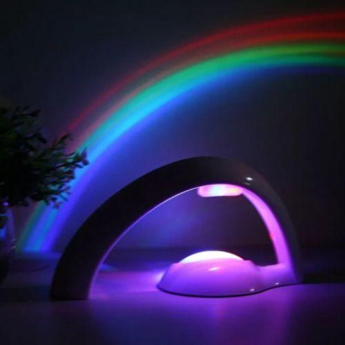 Amazing LED Rainbow Projector Night Light Rainbows, Perfect