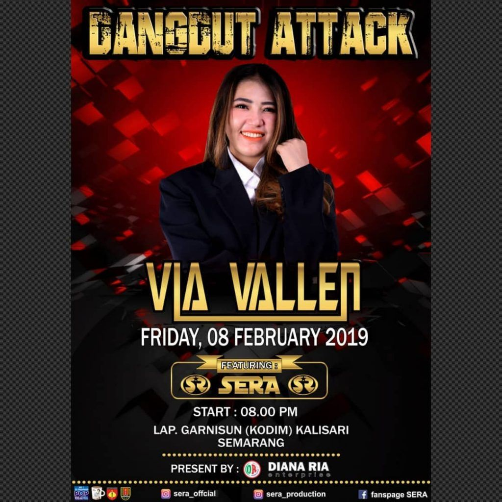 Dangdut Attack di 2020 Poster konser, Konser, Poster
