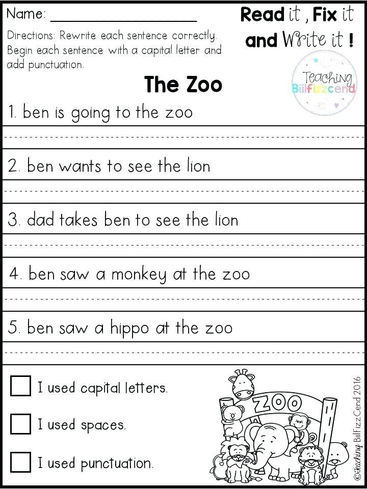 31++ Writing worksheets for 2nd grade Popular