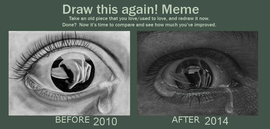 Draw This Again Eye by acjub