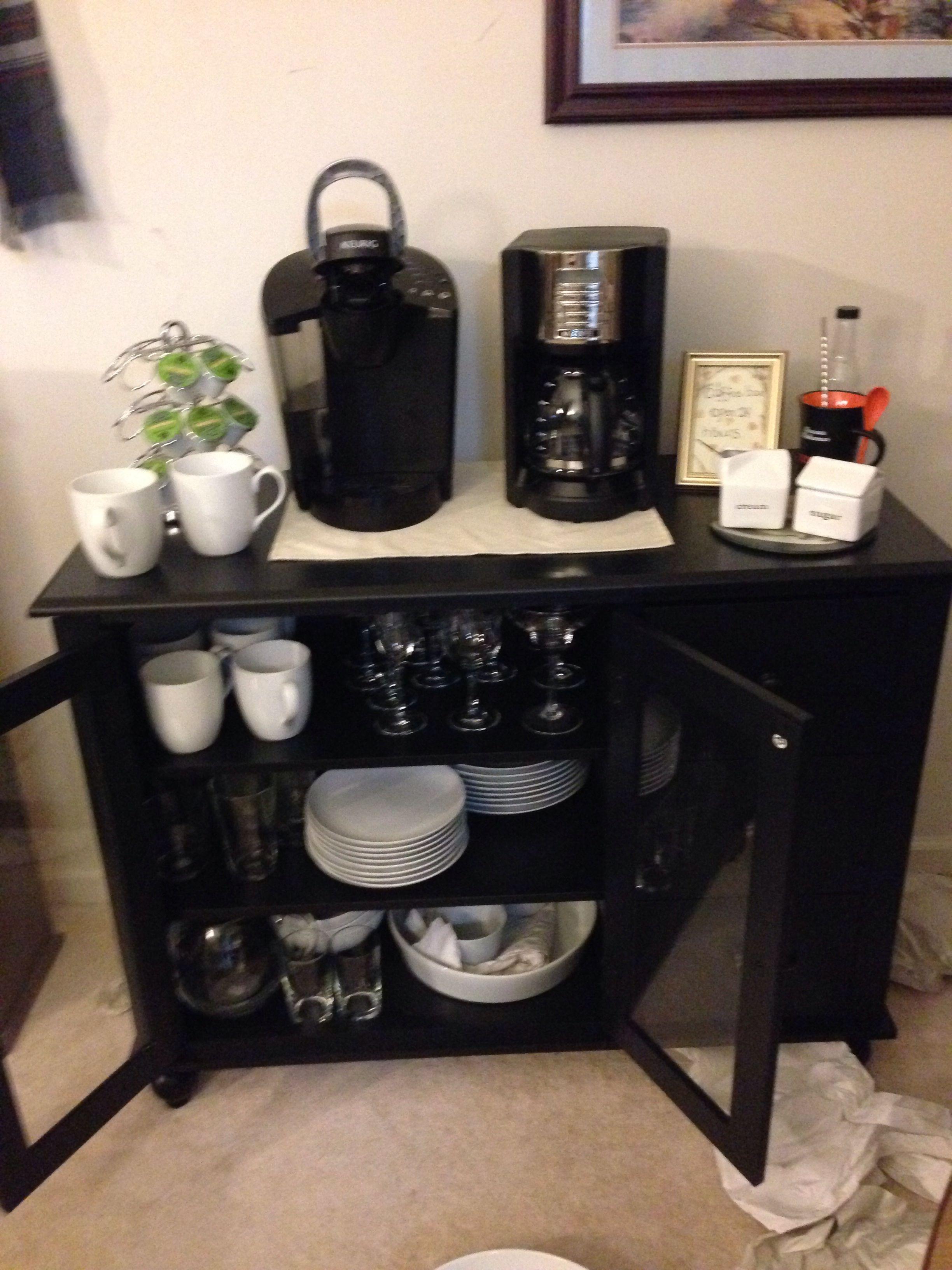 DIY coffee bar! Diy coffee bar, Coffee bar