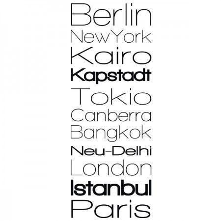Du bist ein Fan von den größten Metropolen der Welt ? Dann haben wir das perfekte Banner für dich. Es zeigt uns alle wichtigen Metropolen der Welt. #Metropole #Banner #Stadt #Wadeco // http://www.wadeco.de/banner-metropolen-weltweit-wandtattoo.html