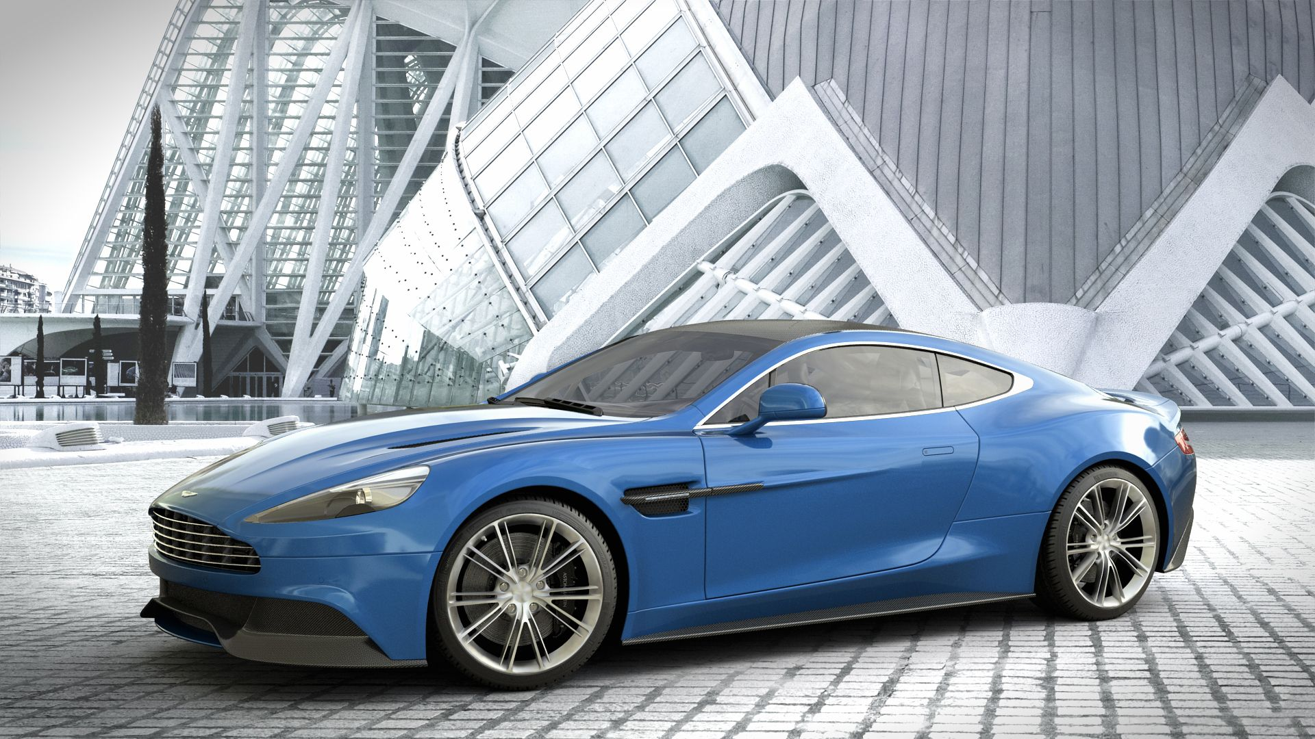 Aston Martin Vanquish Wallpaper Picture Qn