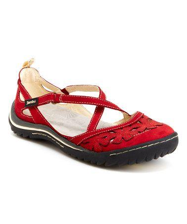 Red Blossom Encore Wide-Width Sneaker
