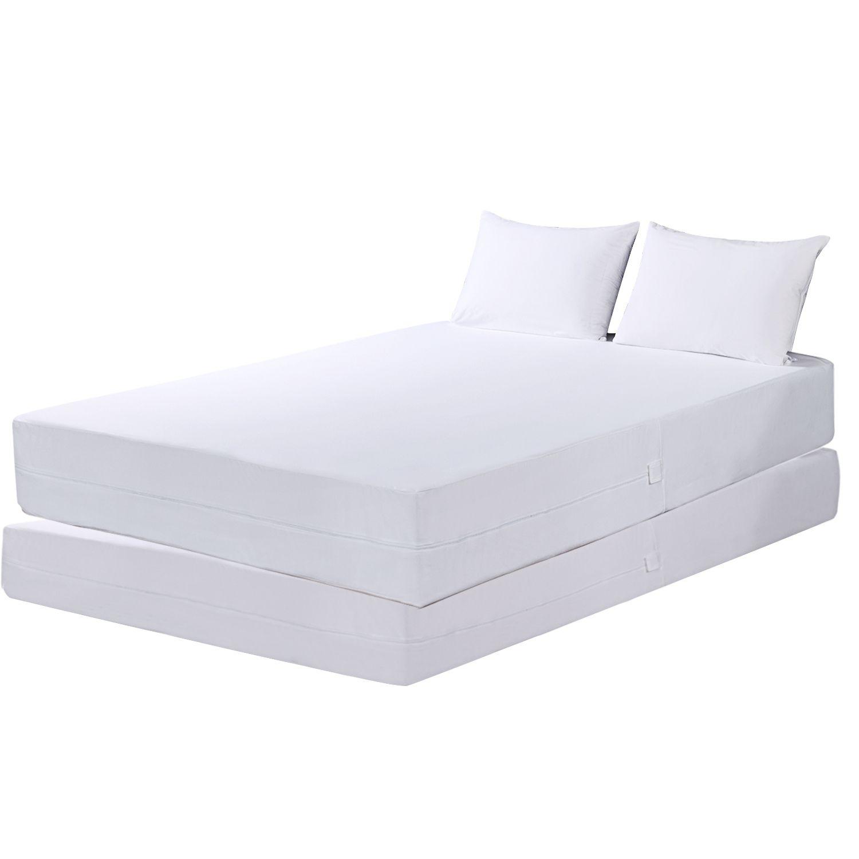 Permalux 3 Piece Waterproof Encasement Complete Bed Protector Set