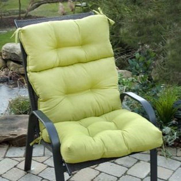 Amazing Iu0027m Learning All About Greendale Home Fashions Outdoor High Back Chair  Cushion Kiwi At @Influenster!