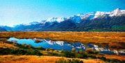 Nature Art Landscape by Margaret J Rocha