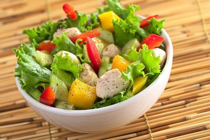 5 وجبات خفيفة صحية صديقة للريجيم Spring Salad Dinner Stuffed Peppers