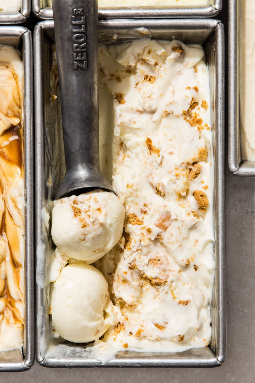 Key Lime No Churn Ice Cream Limeade Buttermilk And Crushed Graham Crackers Add Those Hallmark Flavor No Churn Ice Cream Fool Proof Recipes Cooking Ice Cream