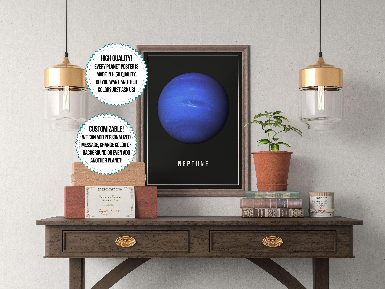 Neptune Planet Print
