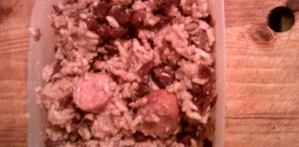 Crock Pot Red Kidney Beans and Rice