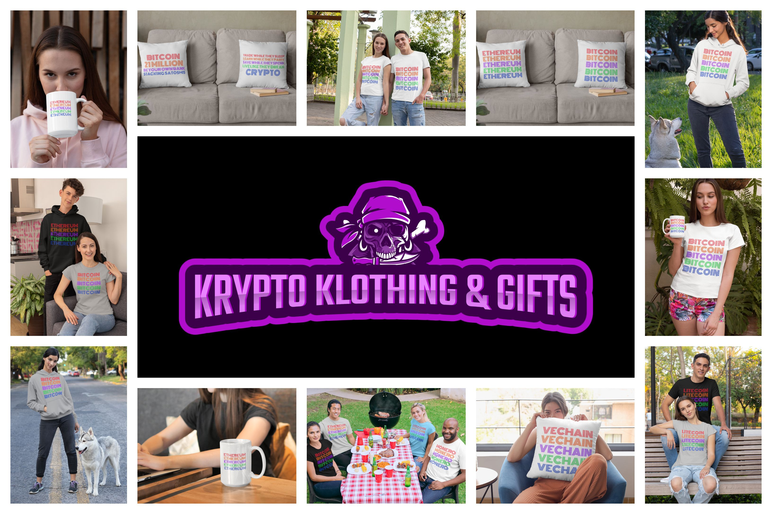 KRYPTO KLOTHING & GIFTS in 2020 Bitcoin, Cryptocurrency