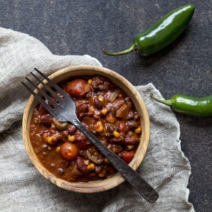 Delicious chili sin carne. http://www.jotainmaukasta.fi/2016/03/10/chili-sin-carne/