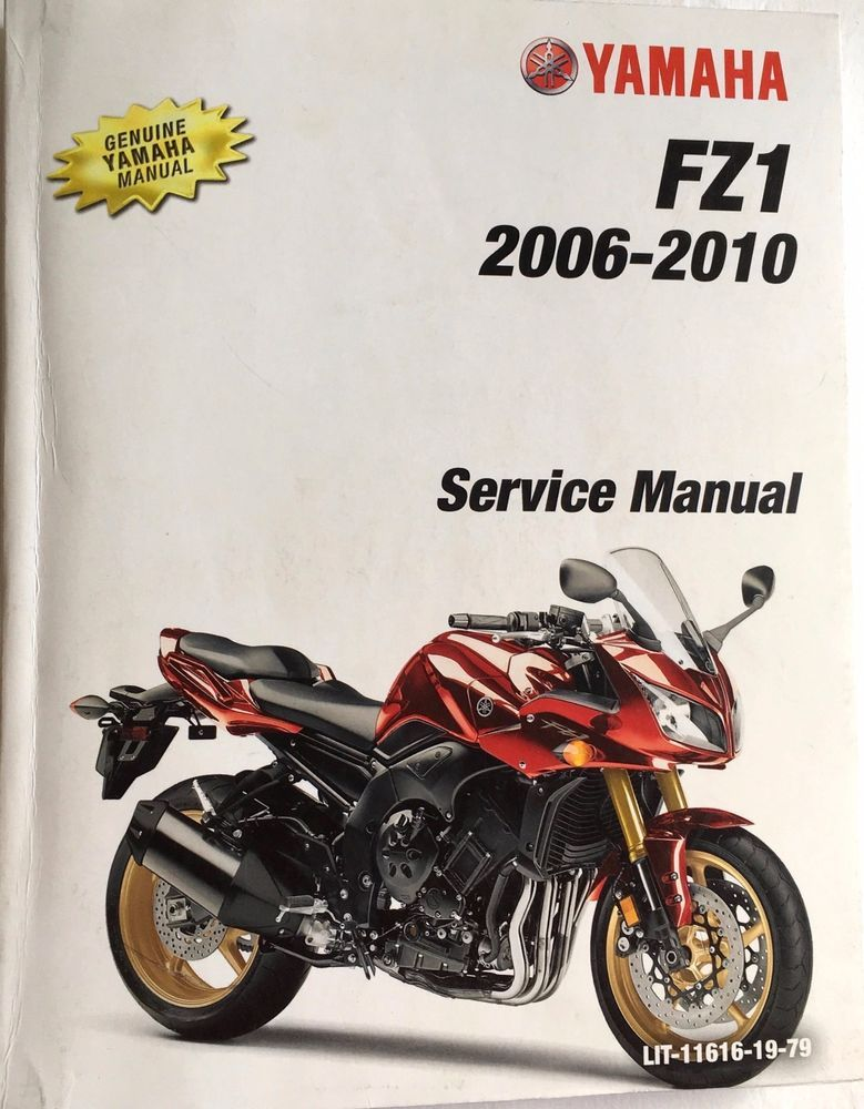 Yamaha Service Manual Softcover P N Lit 11616 19 79 Fzs10v Fzs10v Published 2006 First Edition Includes Wiring Diagrams In Yamaha Motorcycle Motorcycle Repair