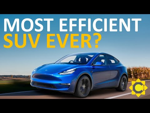 100 Is The Tesla Model Y The Most Efficient Suv Ever How Tesla