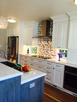 HDR Remodeling, Berkeley Expanded floor plan, in-kitchen eating, quartz countertops and factory painted cabinets. Beautiful. | Yelp