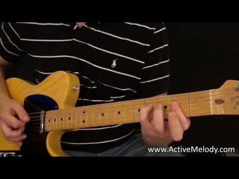 rock blues rhythm guitar lesson key of a youtube guitar in 2019 guitar sheet music. Black Bedroom Furniture Sets. Home Design Ideas