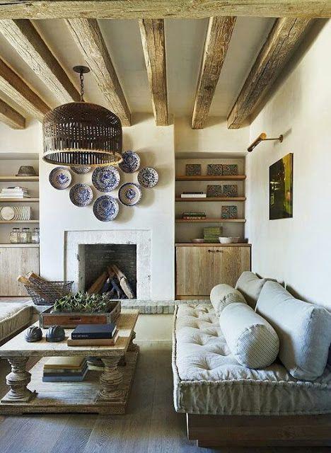 дневник дизайнера: Средиземноморский стиль в интерьере сельского дома в пустыне Сонора: