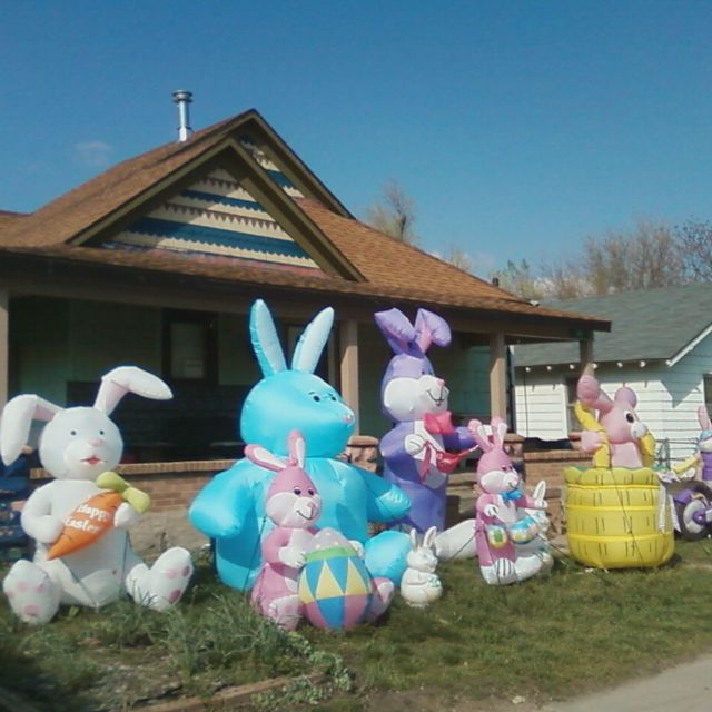 So...you're saying Jesus ISN'T the reason for the season then???  Cause that's a lot of bunnies.