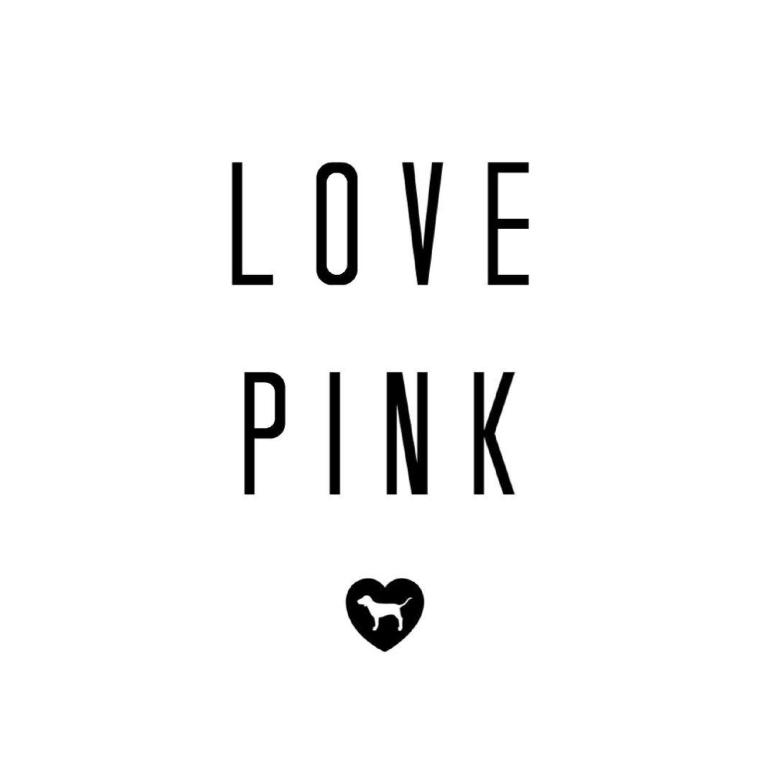 Love Pink Victoria Secret Wallpaper