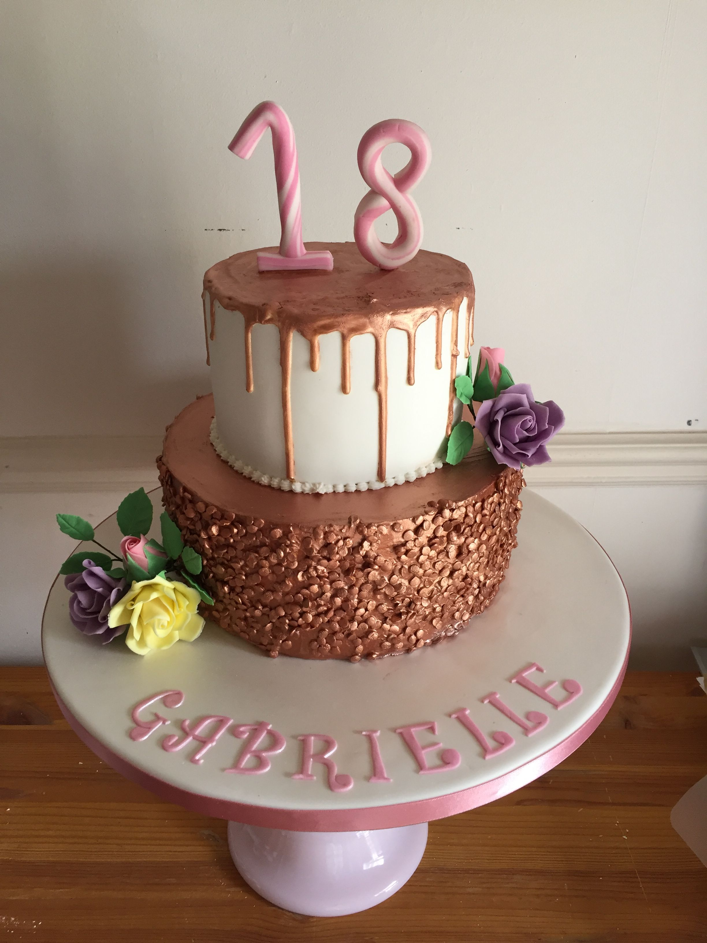 Pin by Noemi Safar on delicious 18th birthday cake, Cake