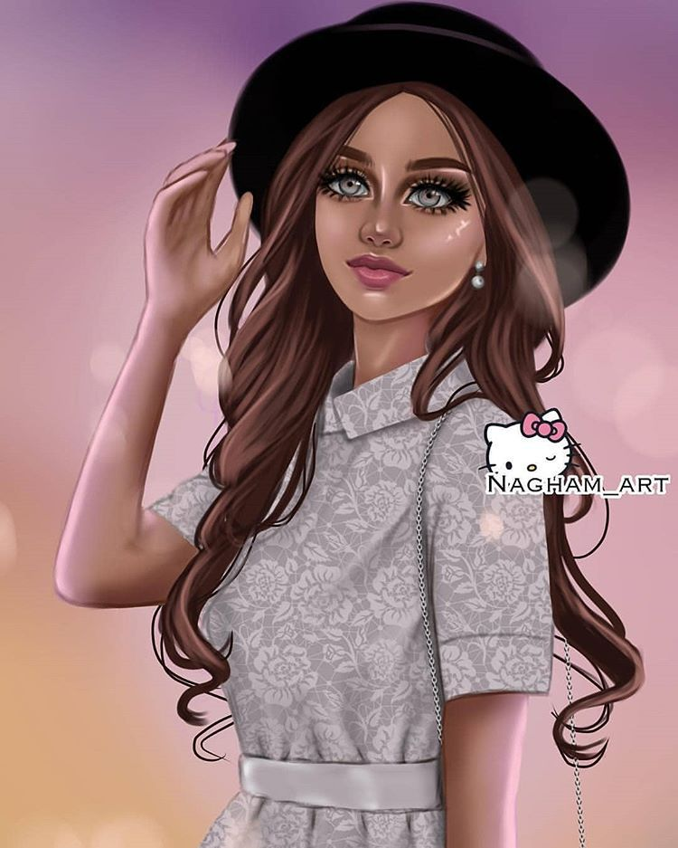 Pin On Girly Illustrations 2