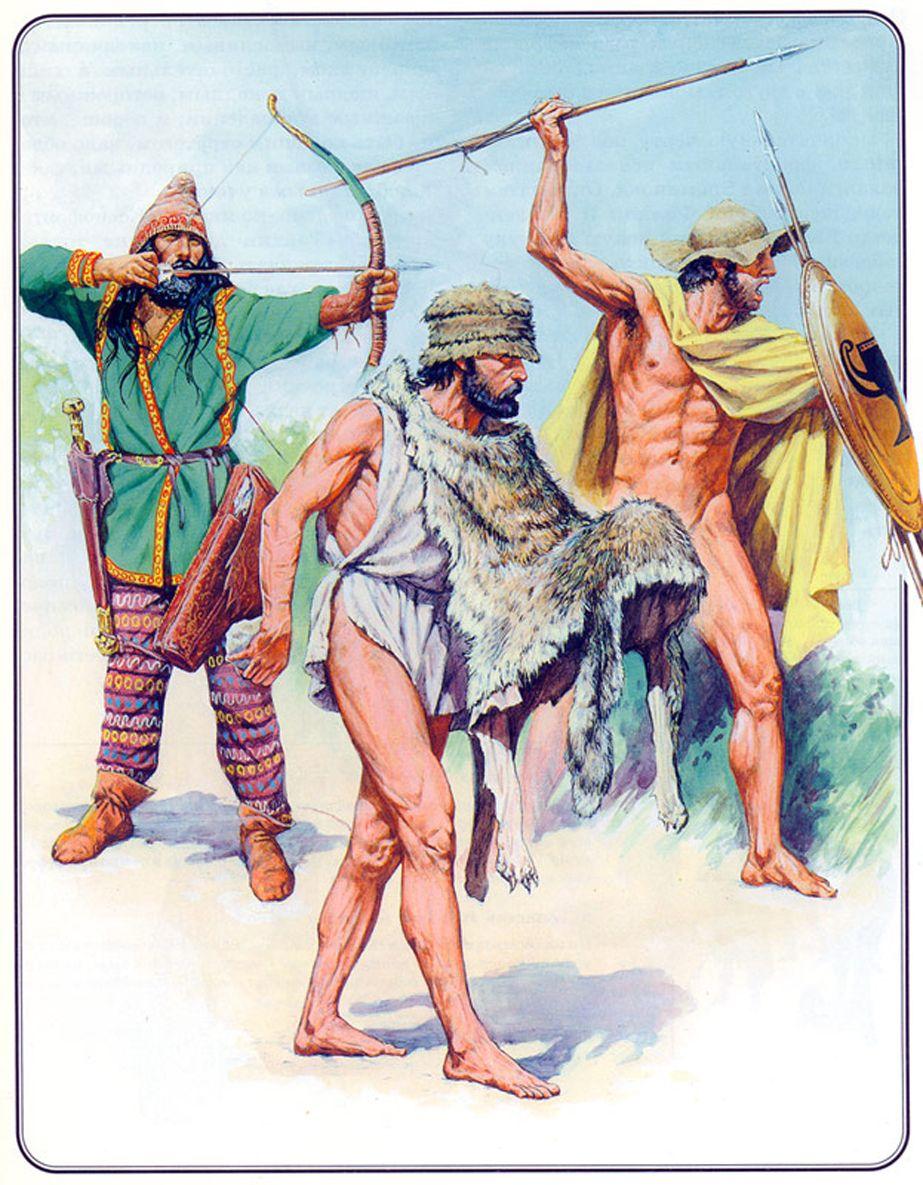 peltasts slingers amp archers hoplite pinterest