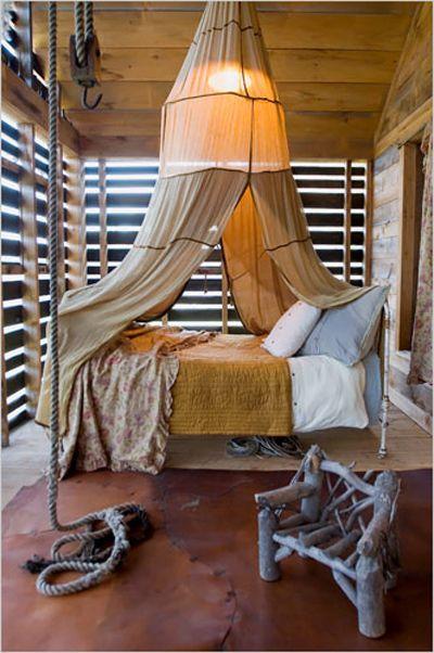 Green Style: J. Morgan Puett's Bedroom