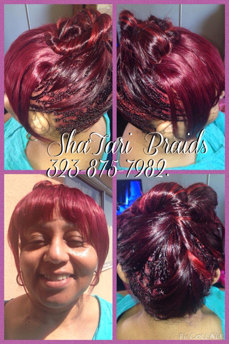 Human hair micro braids shautari braids pinterest braids