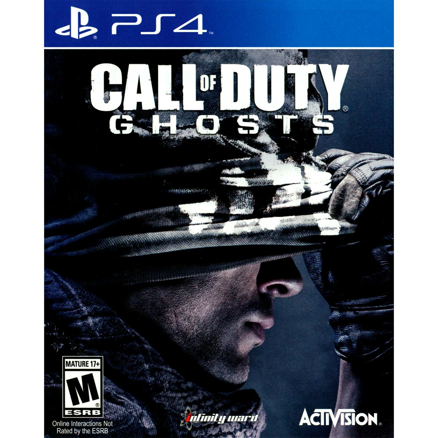 Call Of Duty Ghosts Ps4 Brand New Games Ideas Of Games
