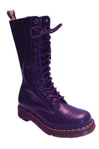 e1cb799098b Dr. Martens - 14 eye - Purple - one zip | Dr. Martens