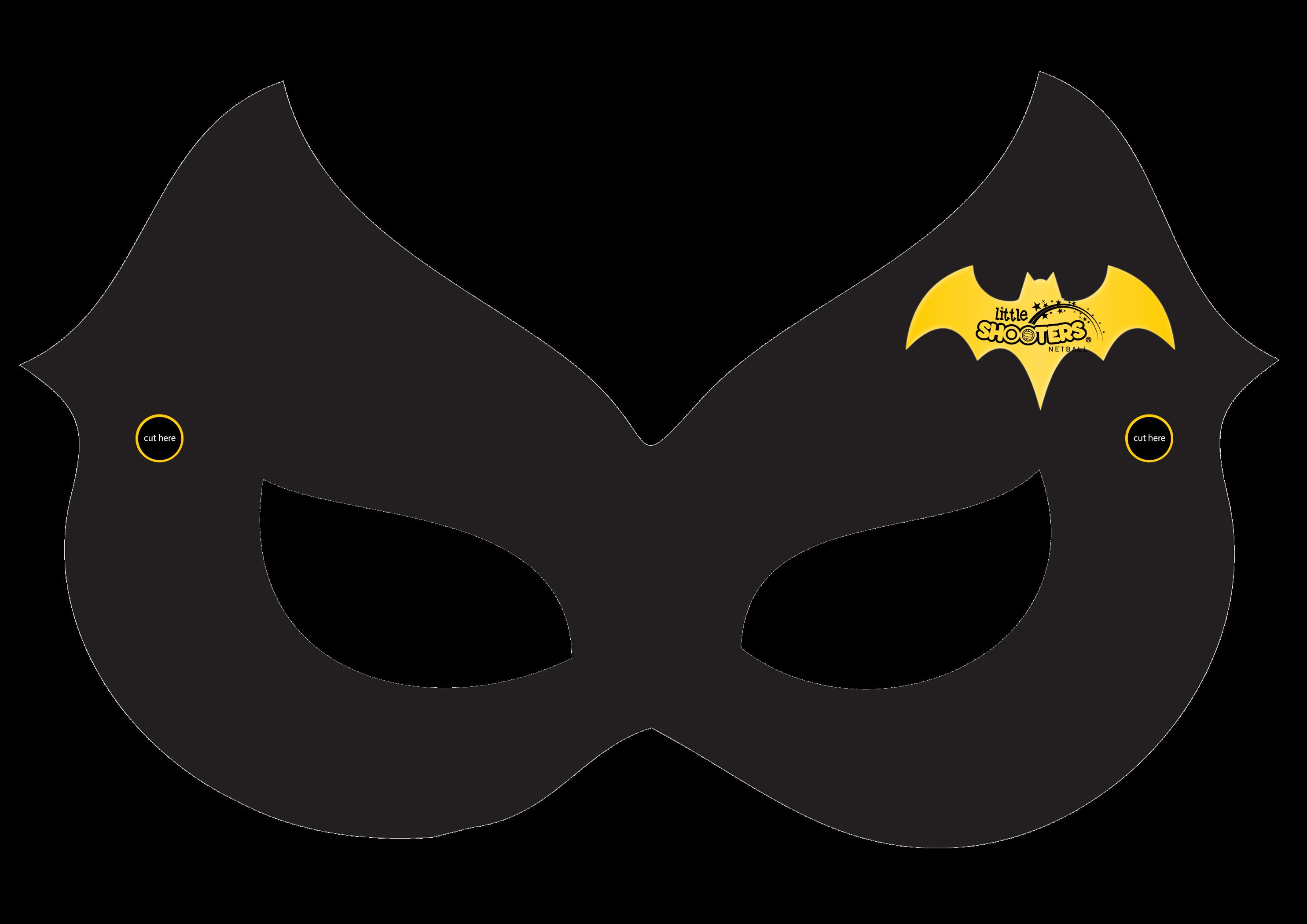 Lucrative image for batgirl mask printable