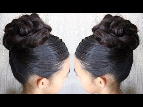 Fotos de peinados recogidos para ninas