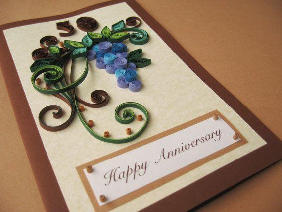 50th Birthday Card For Husband Dad Handmade Paper Quilling Etsy Husband Birthday Card 50th Birthday Cards Birthday Card Printable