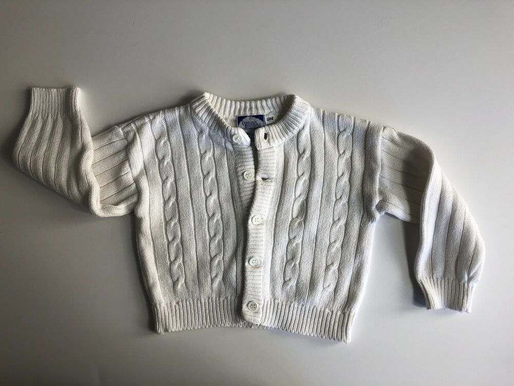 Carter/'s Baby Girl/'s Button Up Long Sleeve Sweater Cardigan 9 Months Green NWT