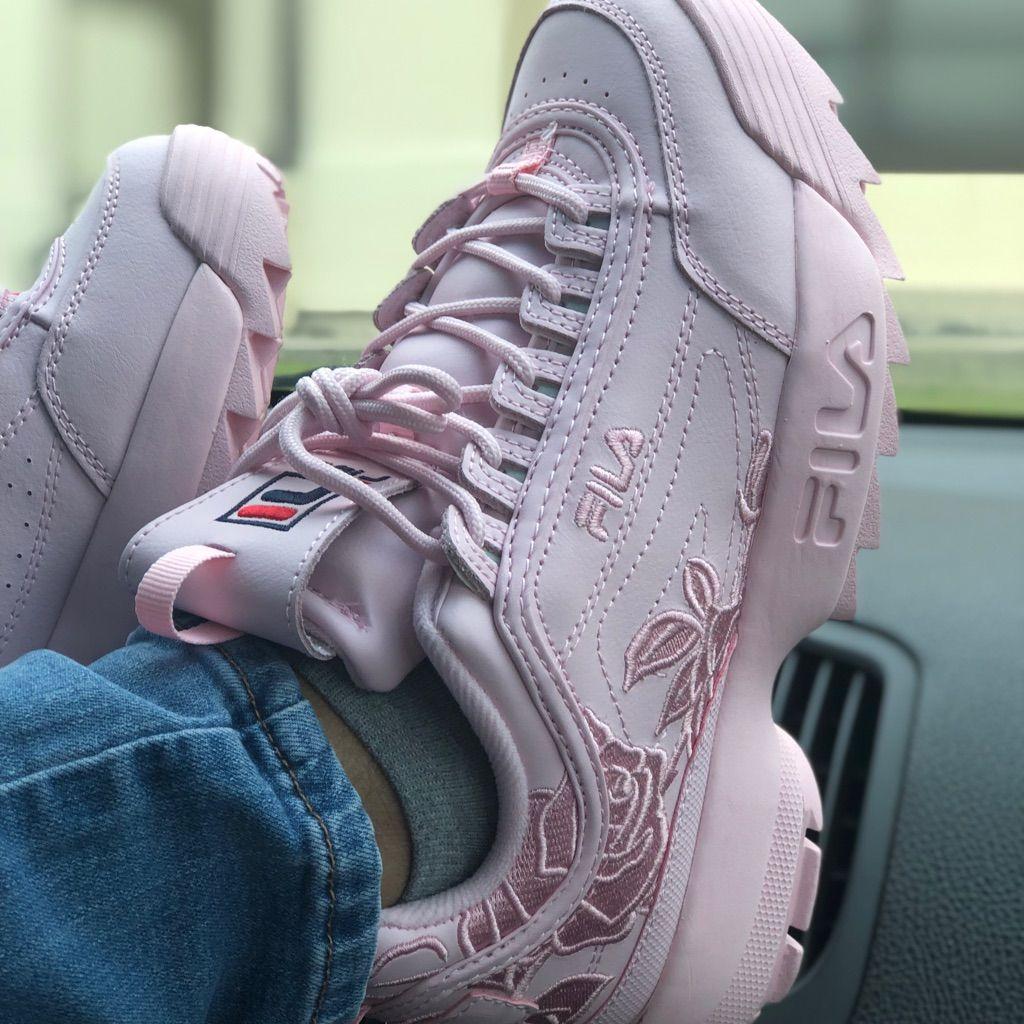 Fila Disruptor Ii Embroidery Pink