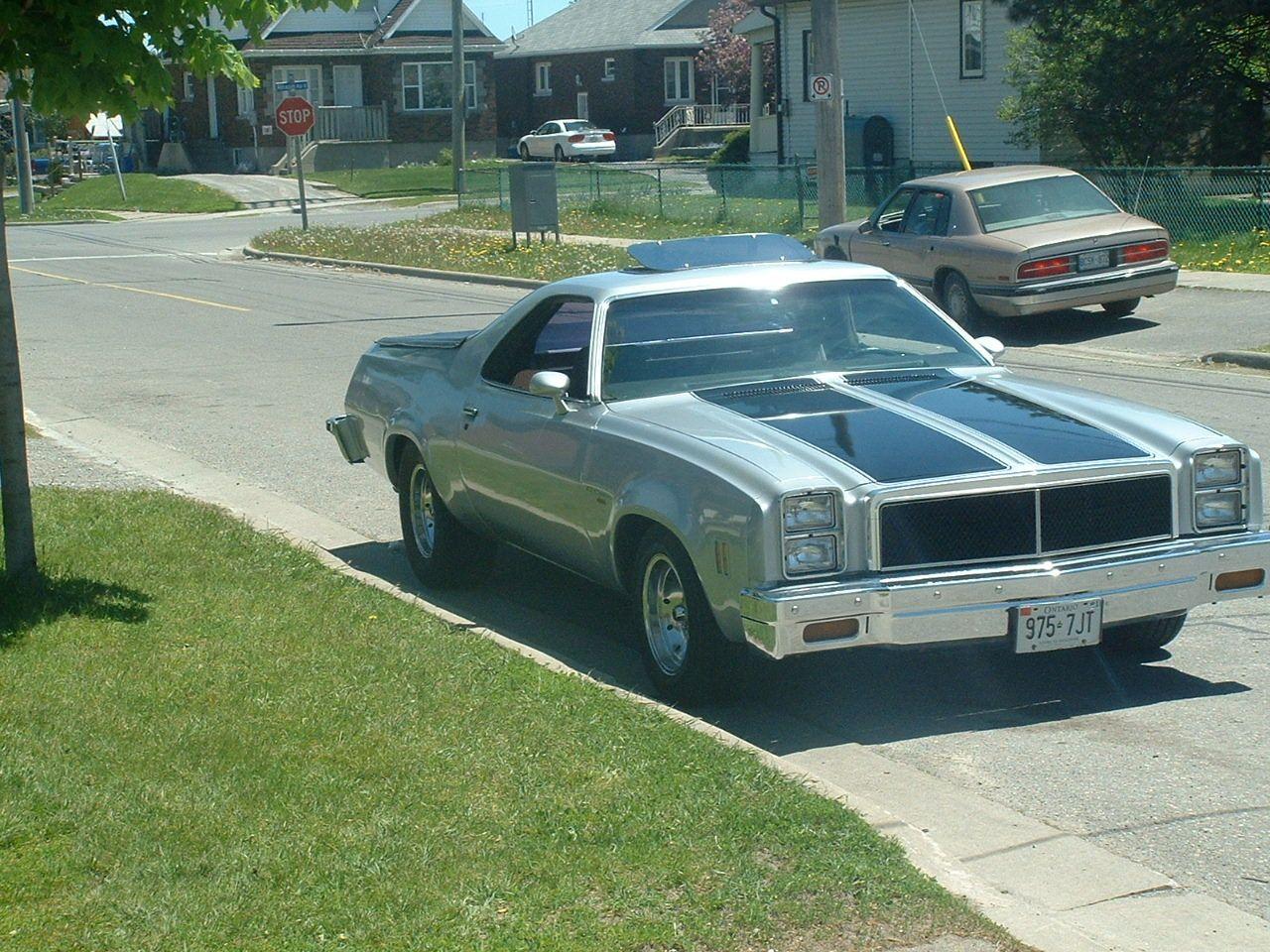 1976 Chevrolet El Camino Chevrolet El Camino Chevrolet El Camino