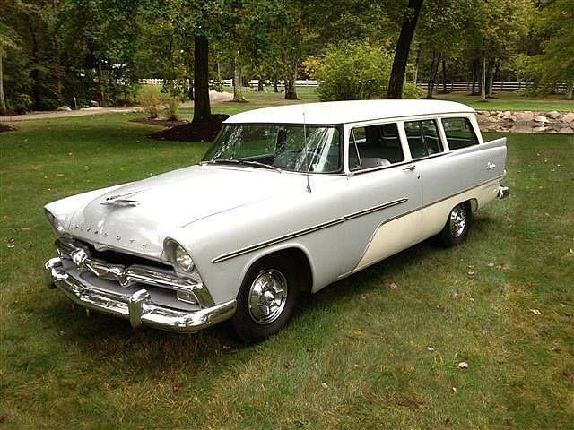 1956 Plymouth Suburban 2 Door Wagon