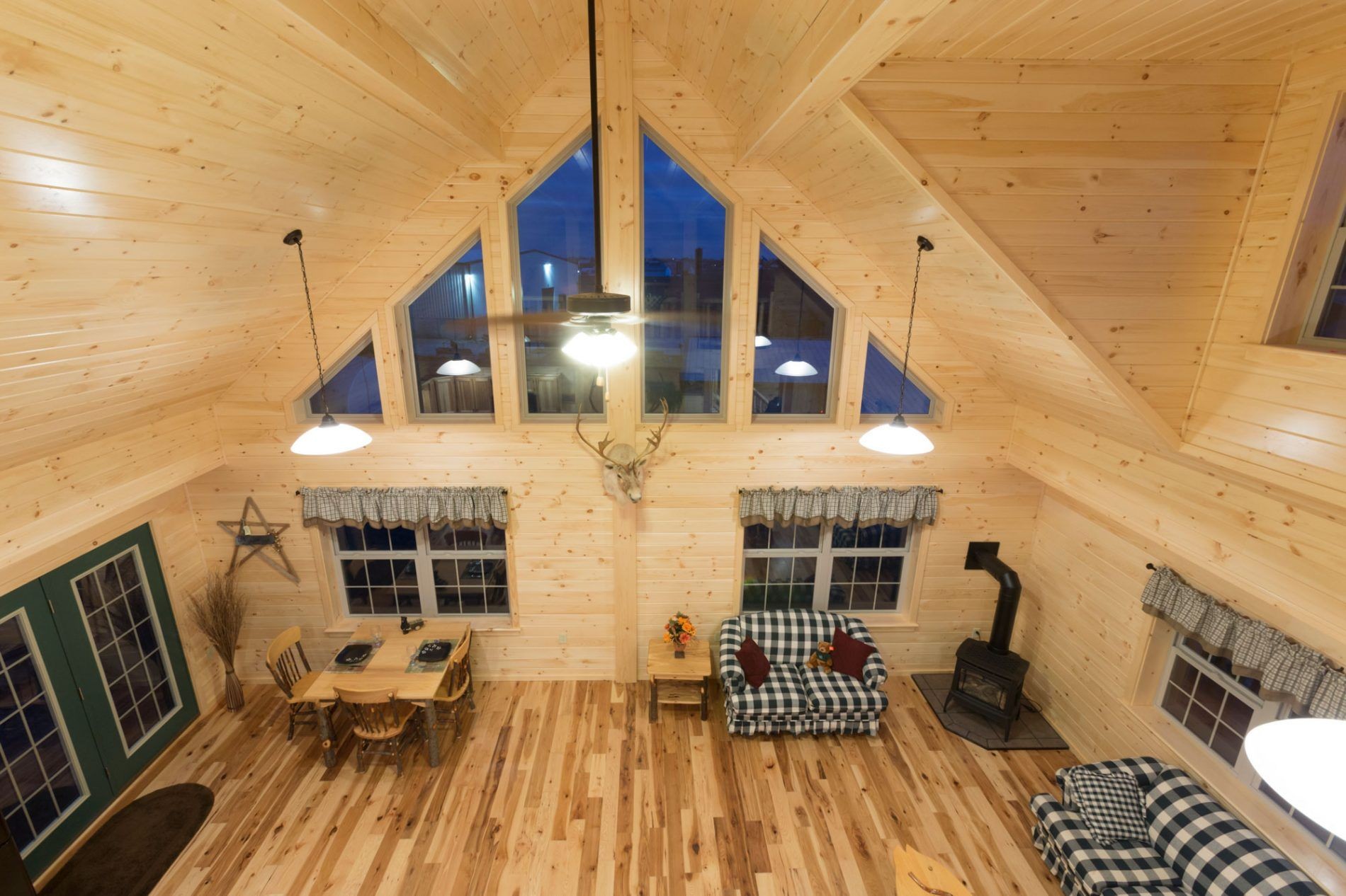 Prefab Log Cabin Pictures and Prefab Log Home Photos | Zook Cabins