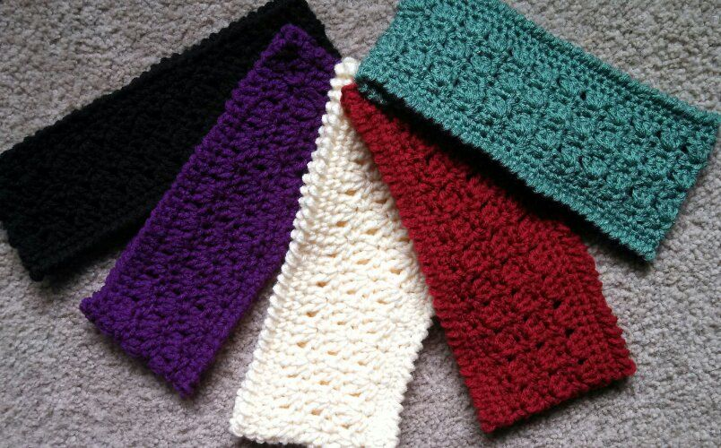Amazing Grace Headband Free Crochet Pattern Add A Flower Very